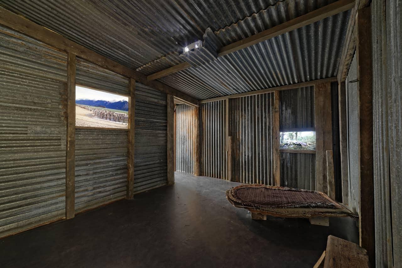 Beyond the End, Kadist Art Foundation, Paris, 2014. House of the Karukinka's park ranger