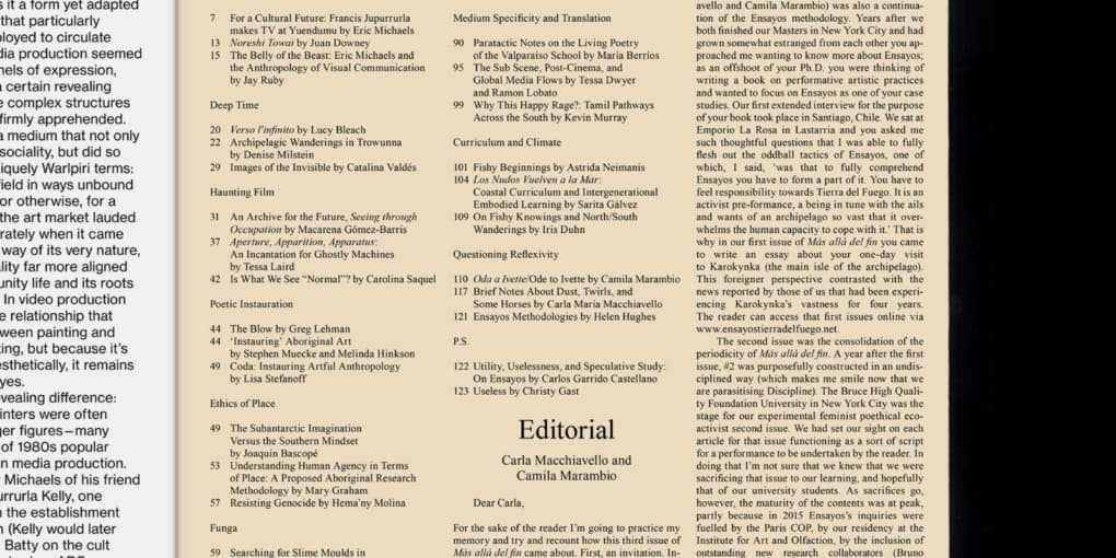 Ensayos – Nomadic Collective Research / Investigación